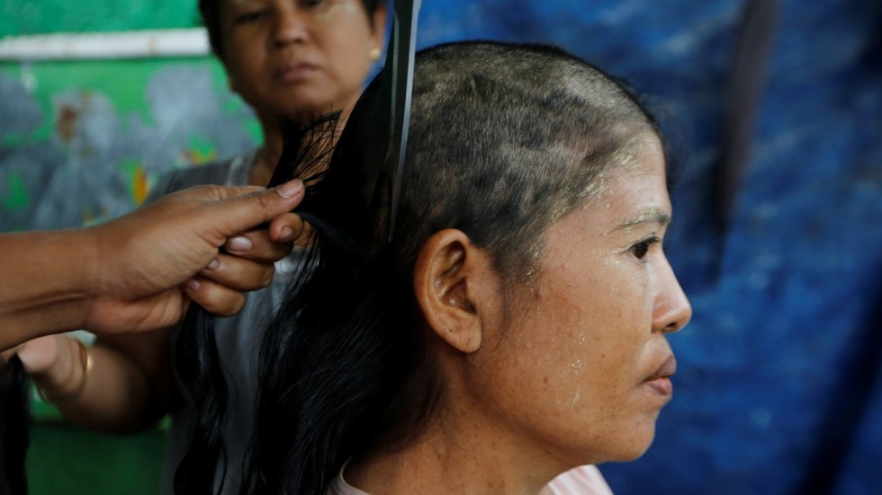 Business Is Booming For Myanmars Trade In Human Hair Used To Make