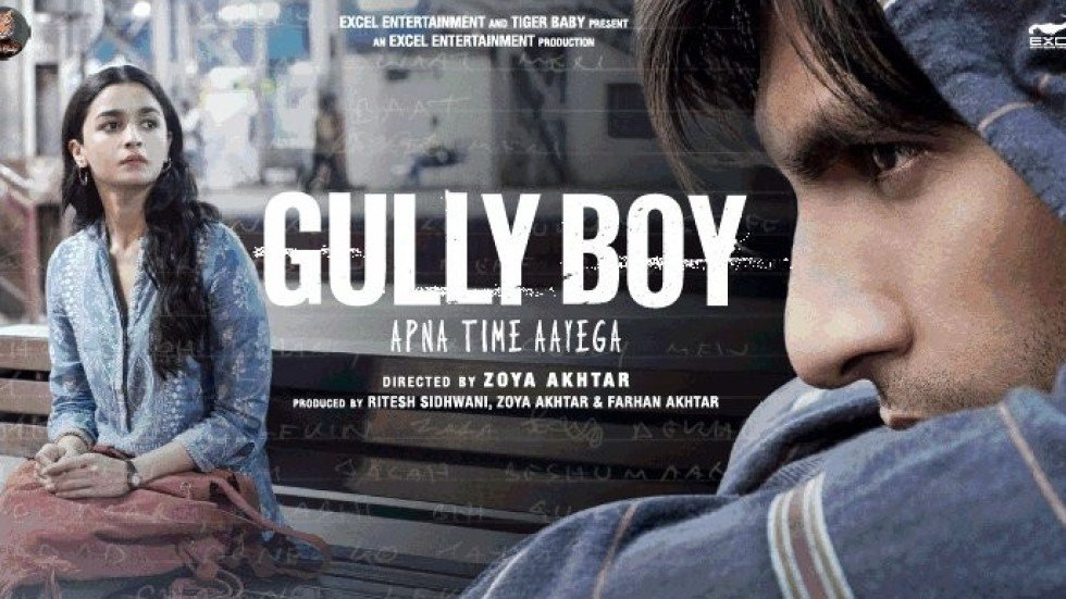 Image result for gully boy poster hd