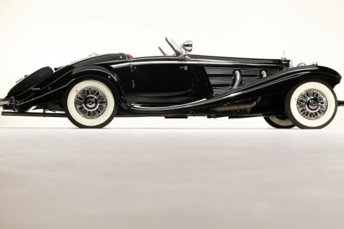 Von Krieger's rare Mercedes-Benz 540K Special Roadster which goes under the hammer later this month and is expectedto fetch a record price.
