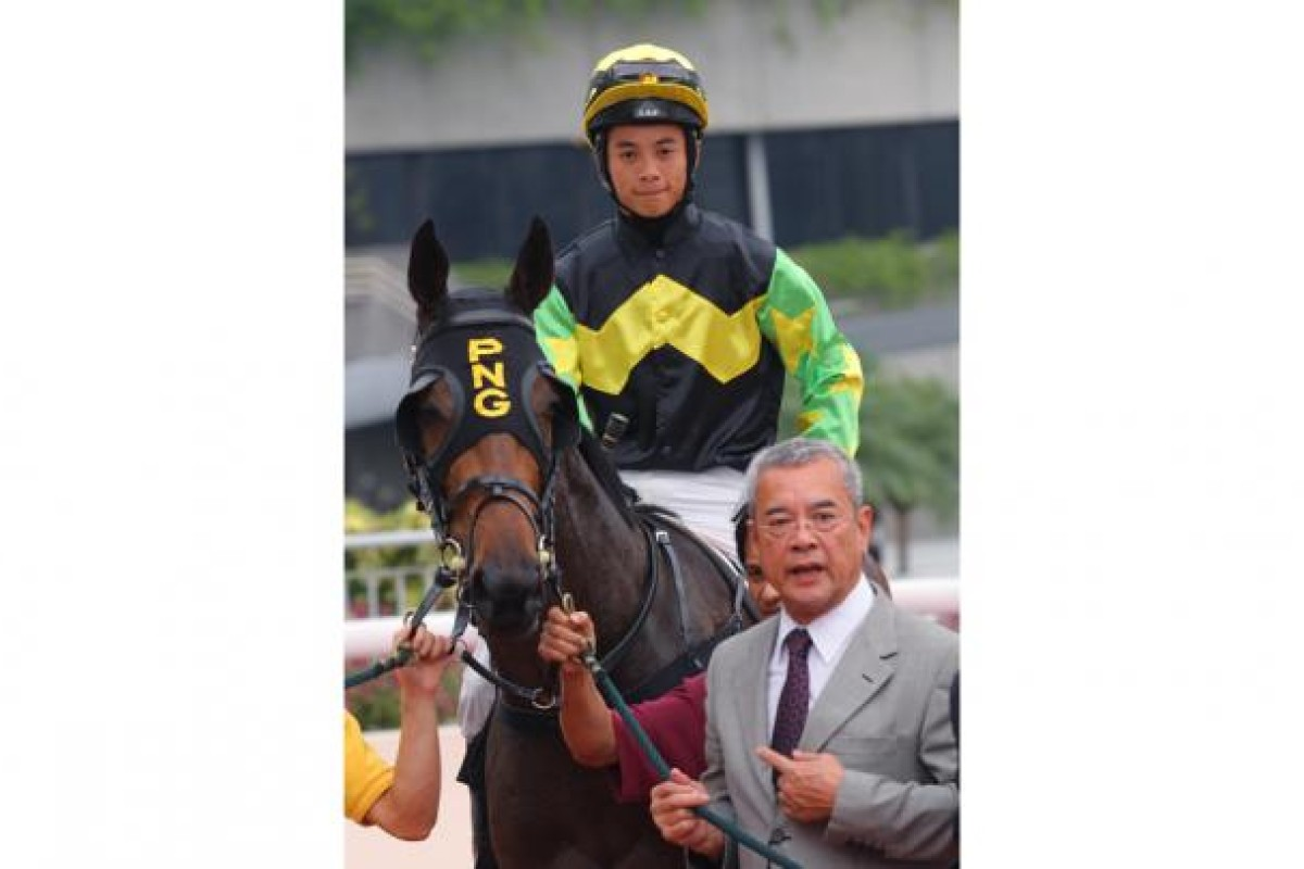 Peter Ng joins Derek Leung and Gorgeous Life, who managed to find the winner's post at last.