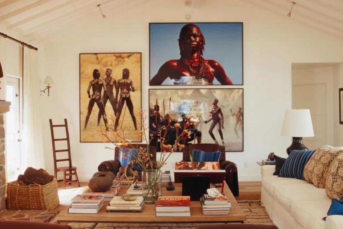 Bullard created a weekend retreat for celebrity real estate agent Chris Cortazzo in Malibu, California.