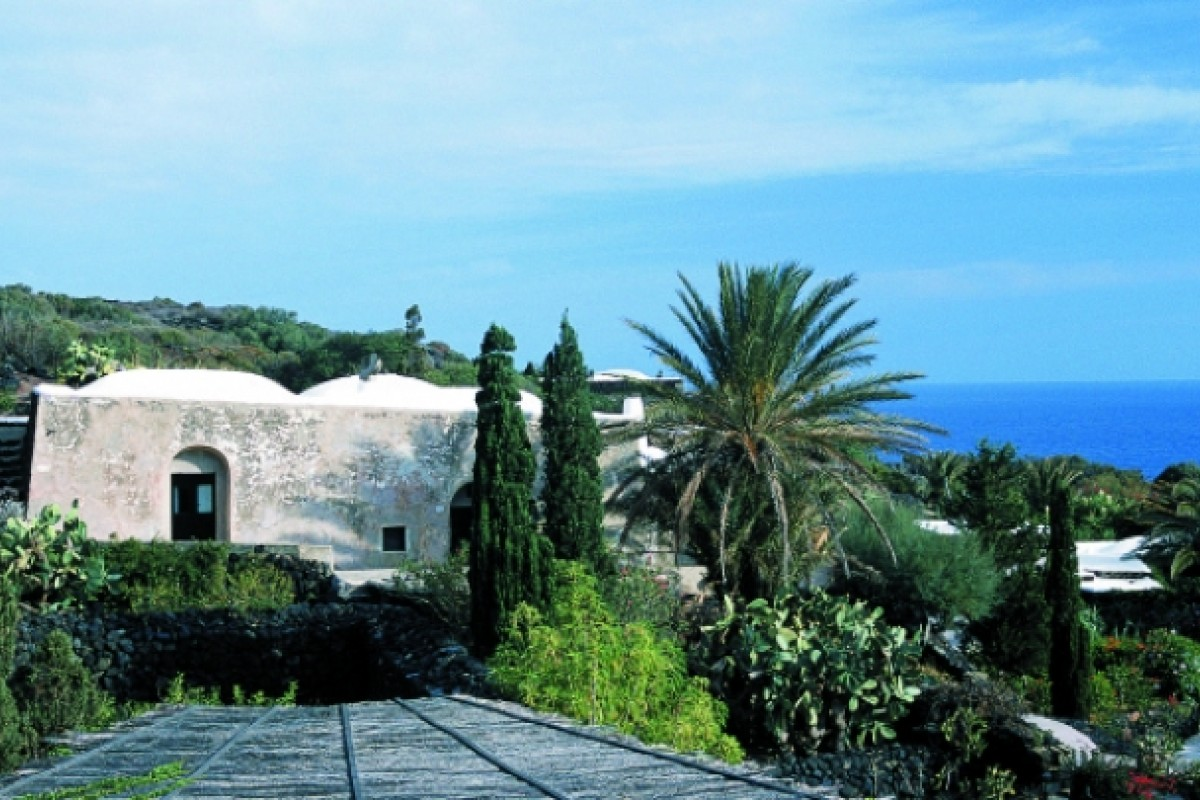 The dammusi houses on the property date back centuries from the Arabic population.