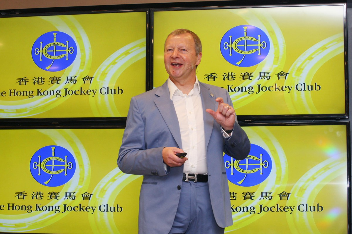 Jockey Club chief executive Winfried Engelbrecht-Bresges