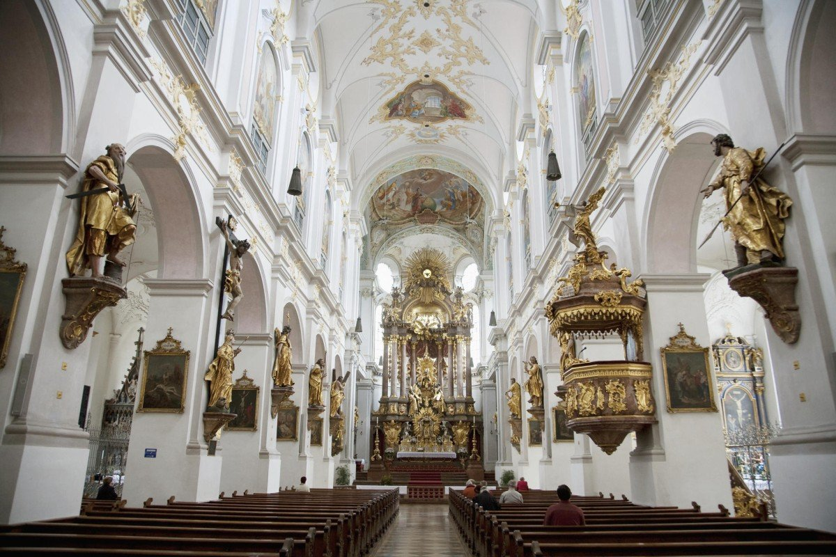 St Peterskirche, Munich's oldest church.
