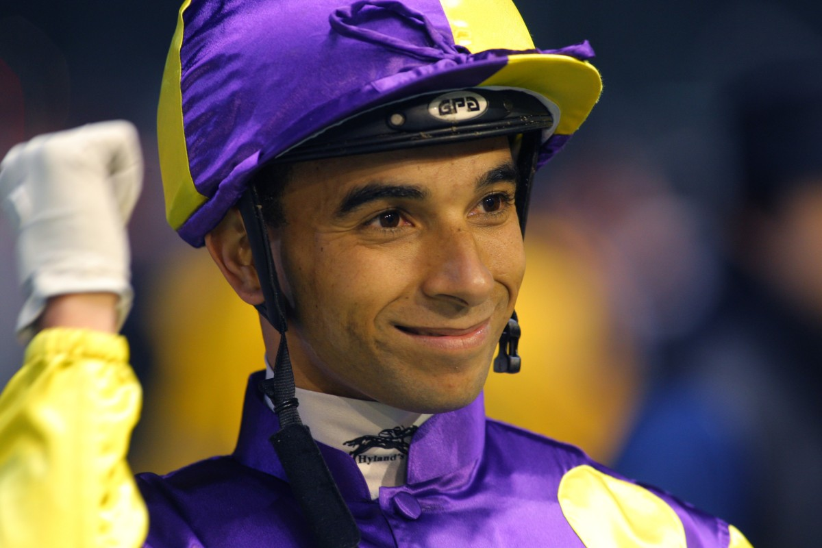 Hong Kong-bound Joao Moreira will ride at tomorrow's meeting in Hohhot. Photo: Kenneth Chan