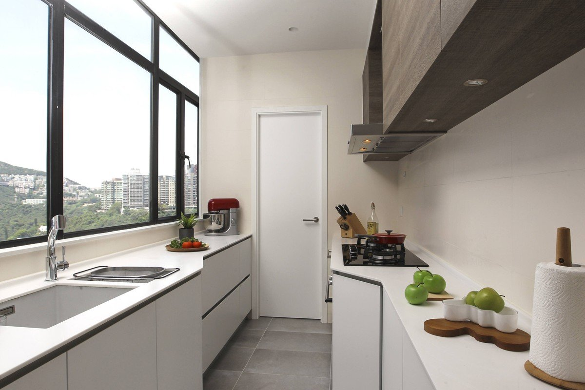 Kitchen: The cabinets (HK$120,000) are by Koda Kitchen (1/F, Keen Hung Commercial Building, 80 Queen's Road East, tel: 2899 2878). The floor tiles cost HK$40 a square foot from Hop Hing Lung Building Material (234 Lockhart Road, Wan Chai, tel: 2511 3013).
