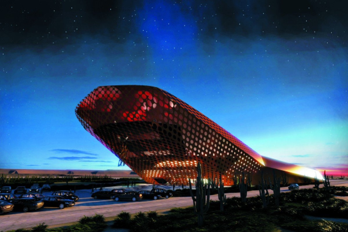 The Spaceport on Curaçao island is expected to be become a major tourist attraction.