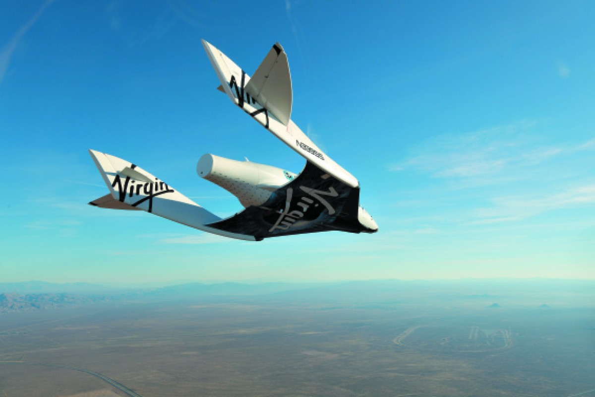 Virgin Galactic will take its space travellers into the air with the WhiteKnightTwo.
