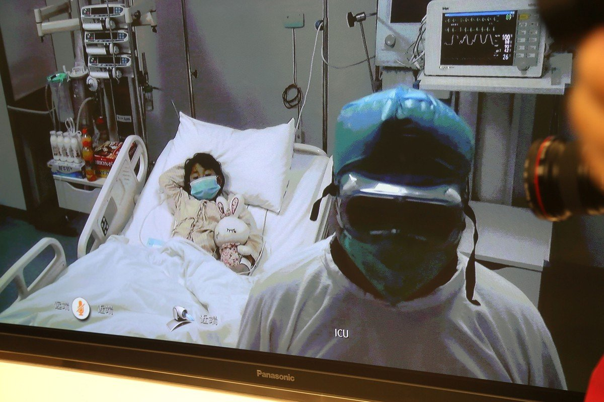 The seven-year-old girl who presented Beijing with its first human case of H7N9 bird flu.