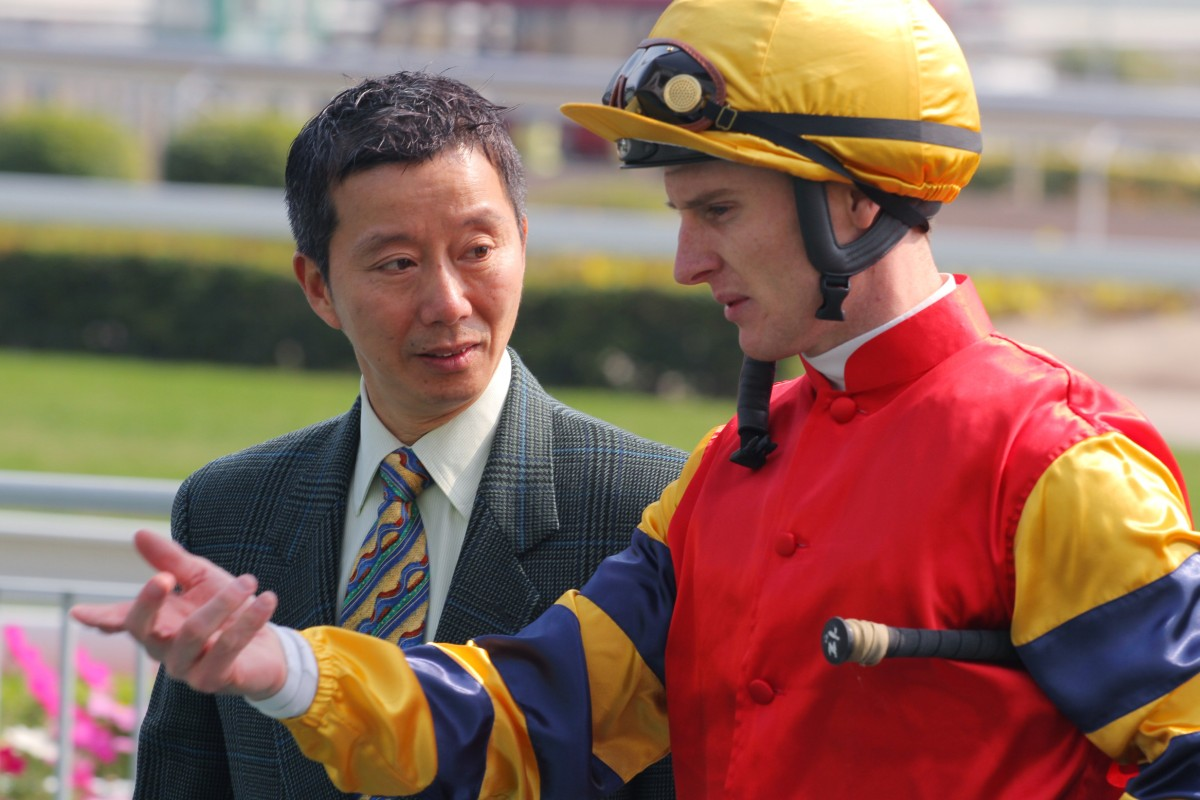 Zac Purton may have only six rides, but his book is strong - including World City for rookie trainer Benno Yung. Photo: Kenneth Chan