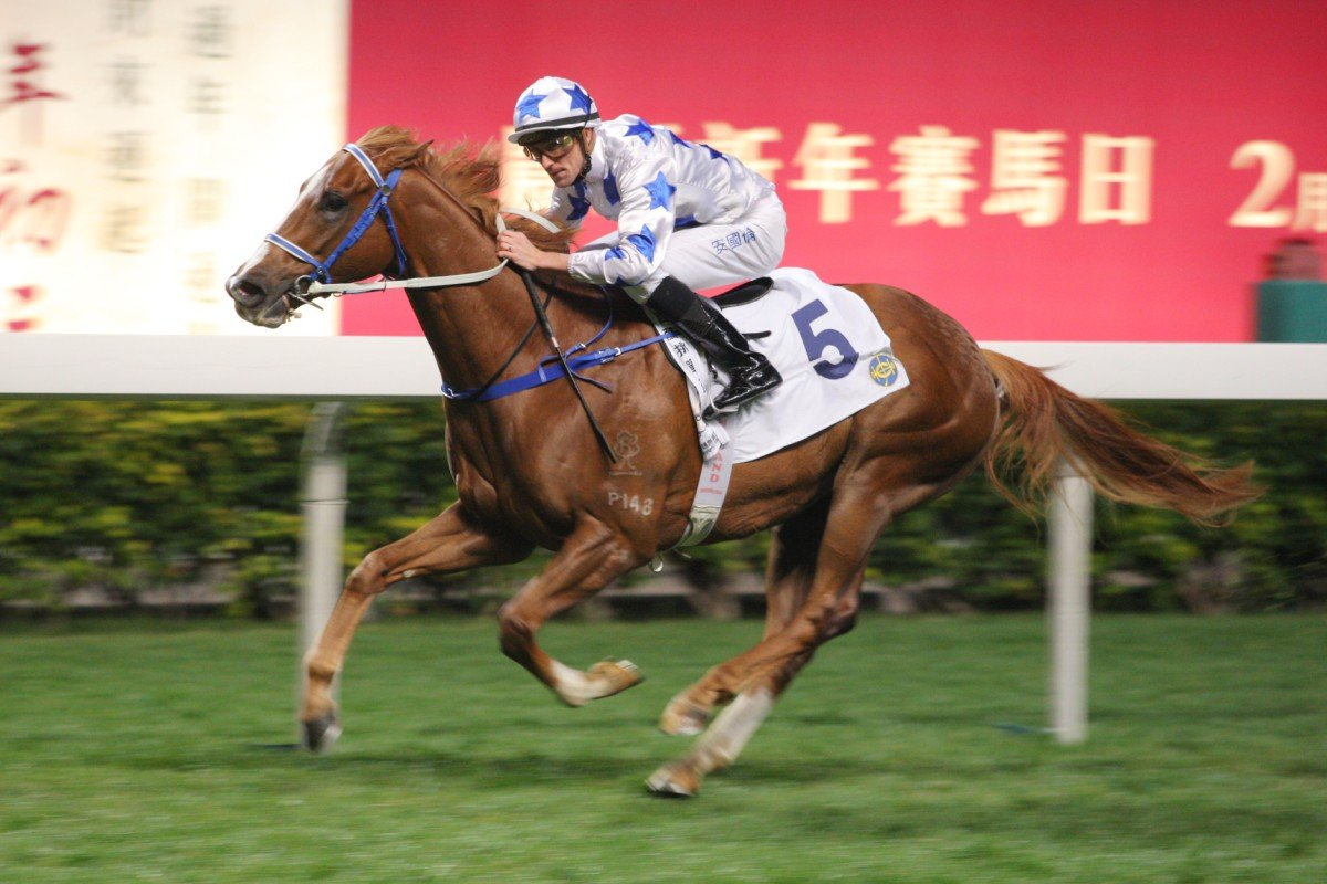 Braveness won at Happy Valley on January 15 after joints treatment. Photo: Kenneth Chan
