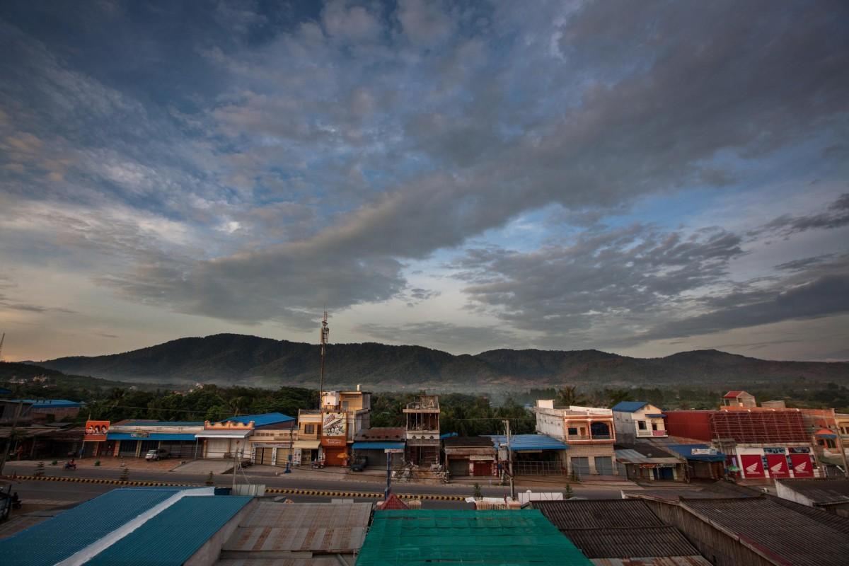 Pailin town.