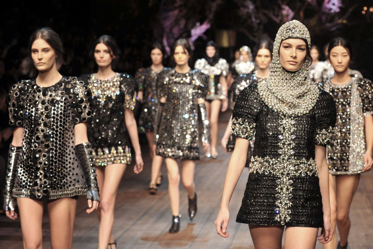 Dolce & Gabbana's autumn-winter 2014-15 show at Milan Fashion Week last month.