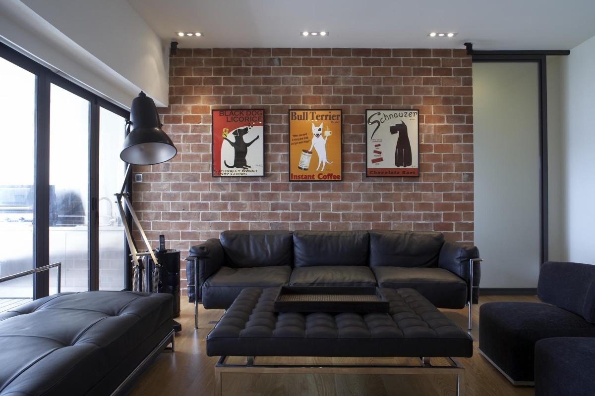 Attirant Brick Walls Are A Common Feature In Lofts. The Bricks Are Raw And  Unfinished,
