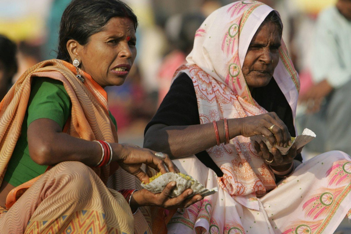 Dalit women in Mumbai.