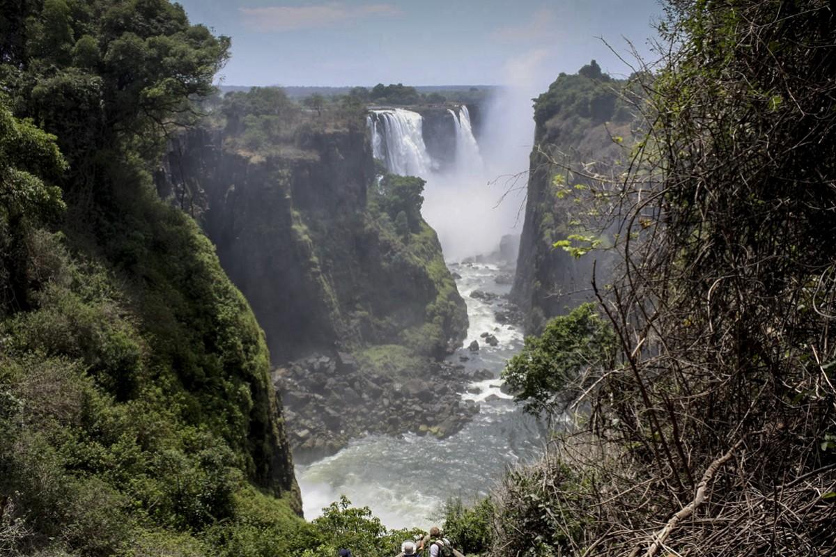 The Victoria Falls. Picture: Jenni Marsh
