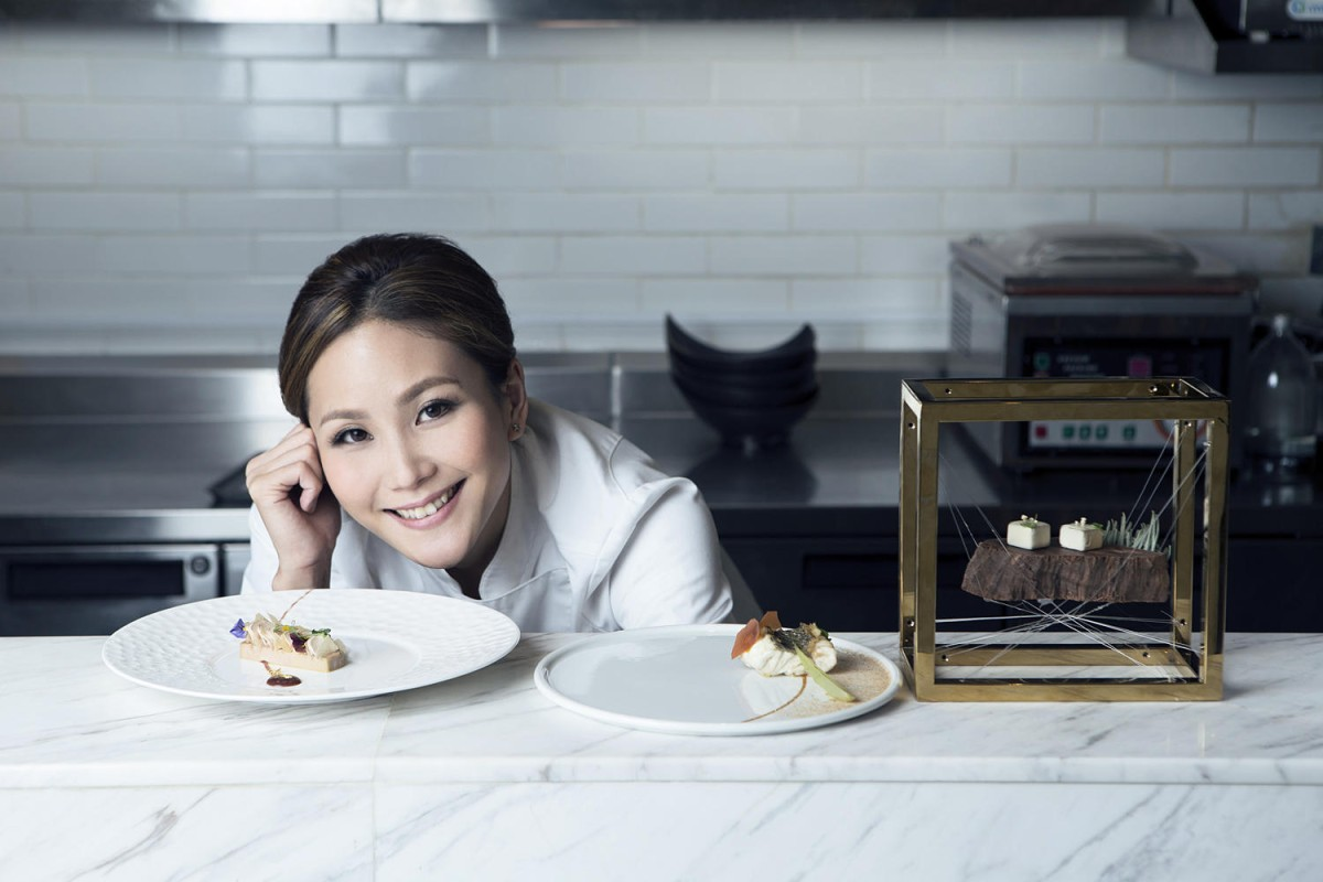 Vicky Lau started out in advertising before learning her trade at Le Cordon Bleu in Bangkok and working at Michelin-starred Cépage in Hong Kong.