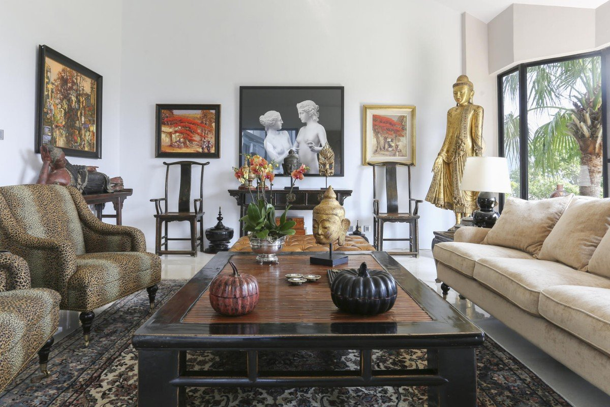 In Hong Kong Village Home Asian Antiques Get Pride Of