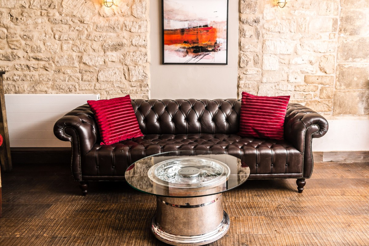 Luxury upcycling is gaining momentum in the world of interior design
