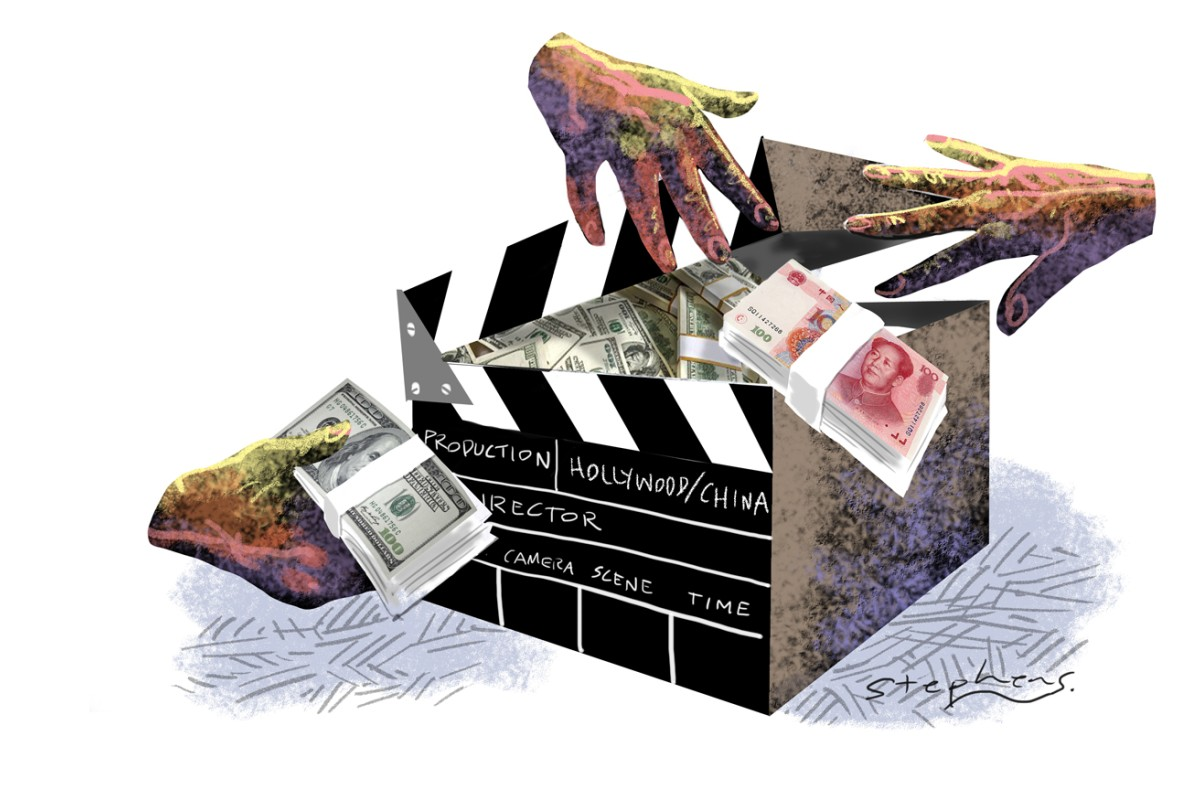 Now is the perfect time for Chinese private equities to invest in Hollywood productions as the mainland's film market is booming. Illustration: Craig Stephens