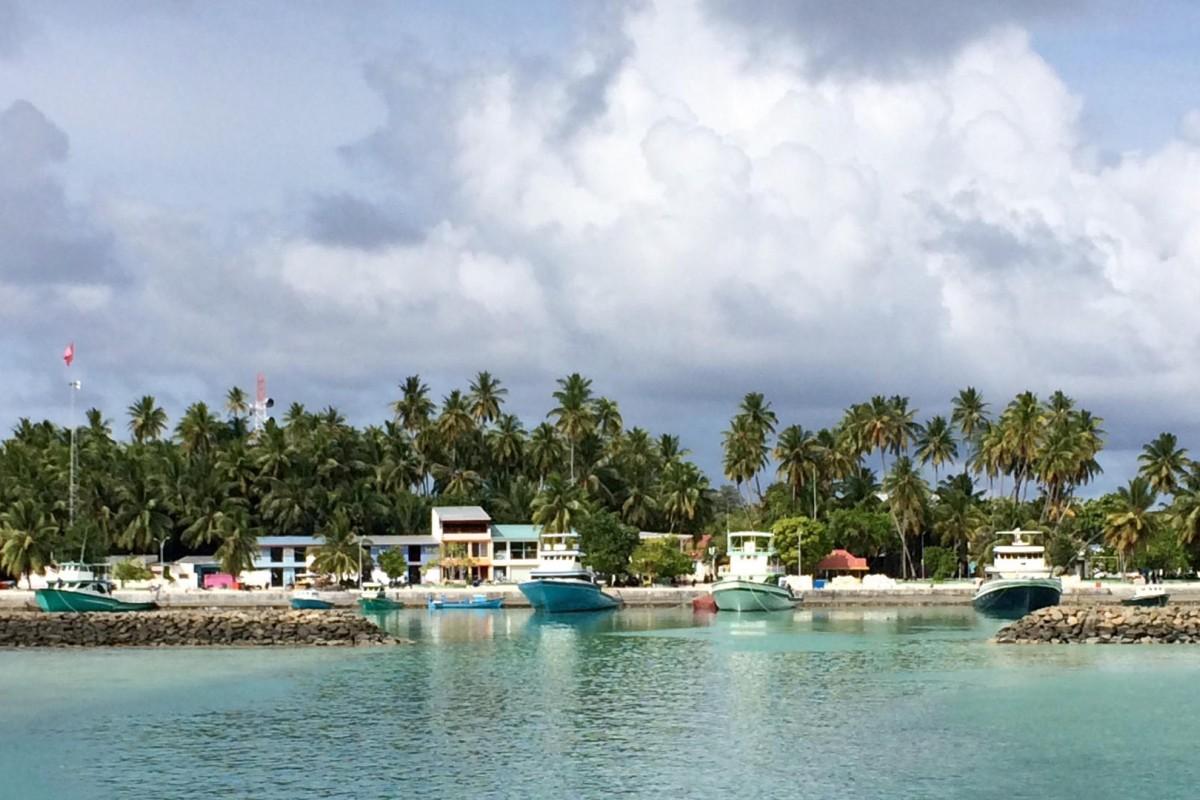 Kuda Huvadhoo island, Dhaalu Atoll, in the Maldives. Photos: Florence de Changy