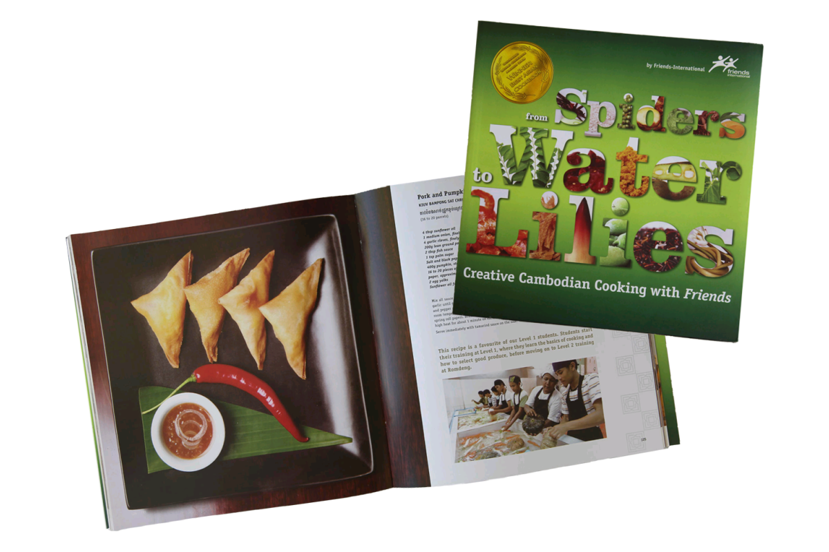 Food book from spiders to water lilies cambodian recipes post i might have been kidding myself when i said i was buying this book as an act of charity rather than to add to my paltry cambodian cuisine cookbook forumfinder Gallery