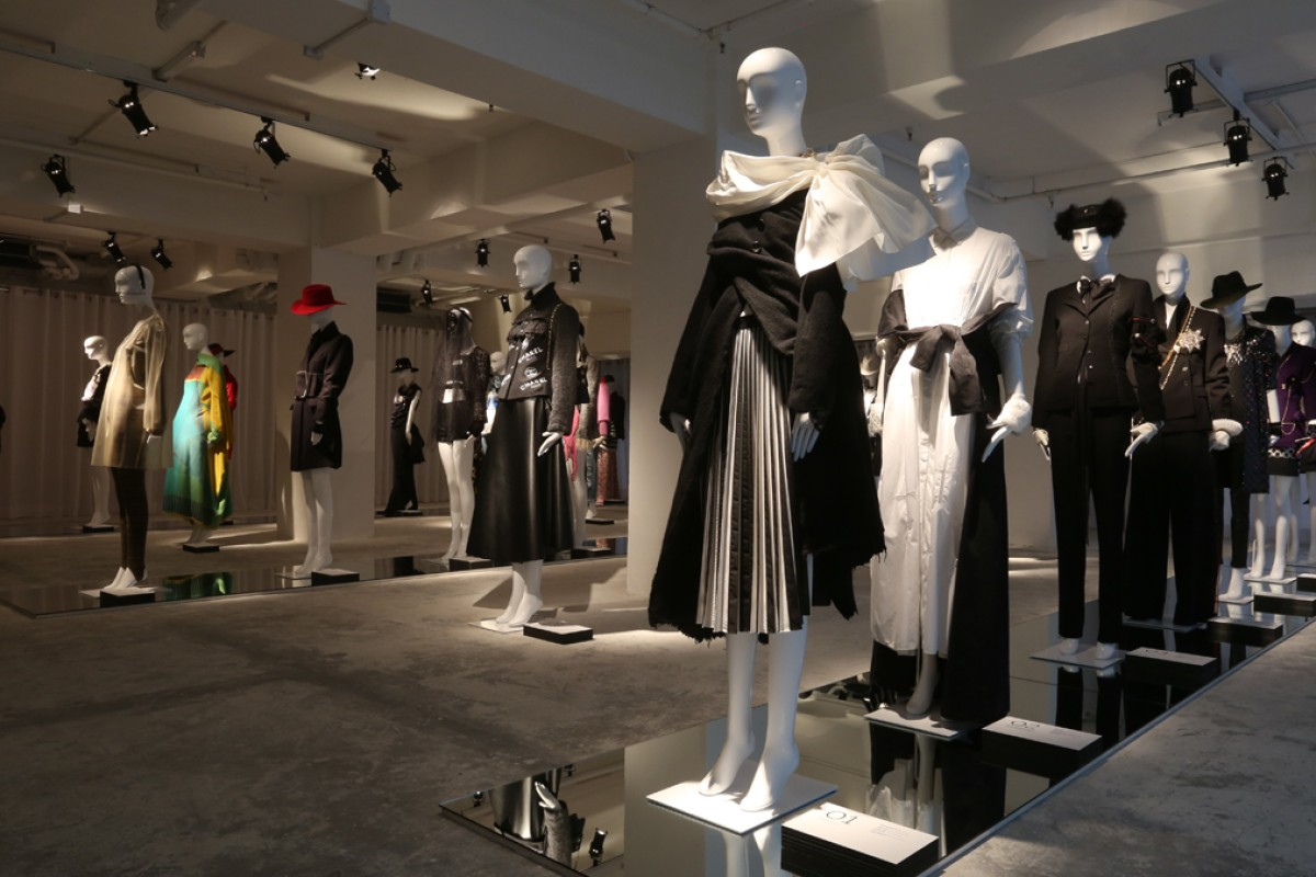 Joyce's unique shoppable exhibition enhances the luxury retail experience.