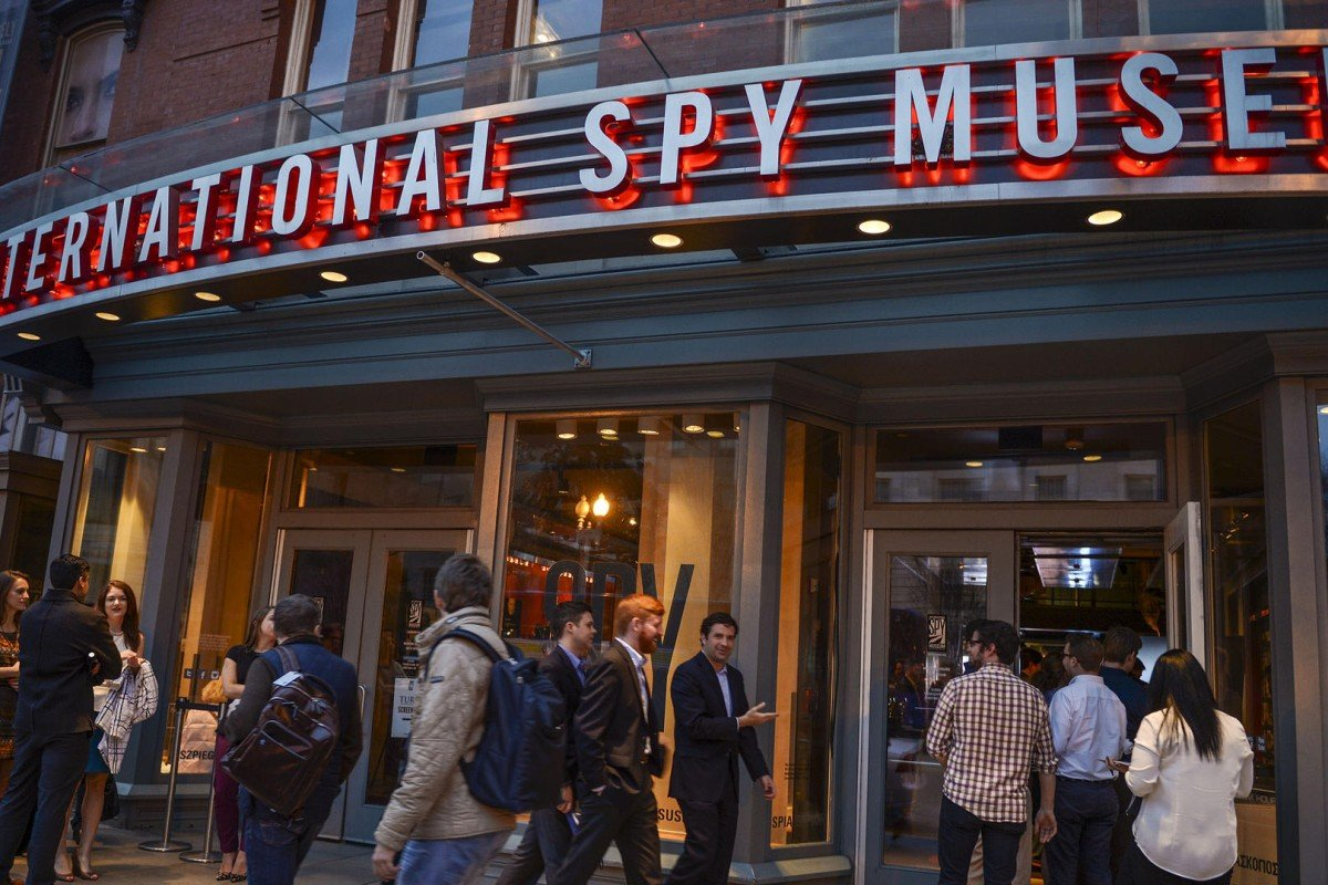 The International Spy Museum. Photos: handouts; AFP