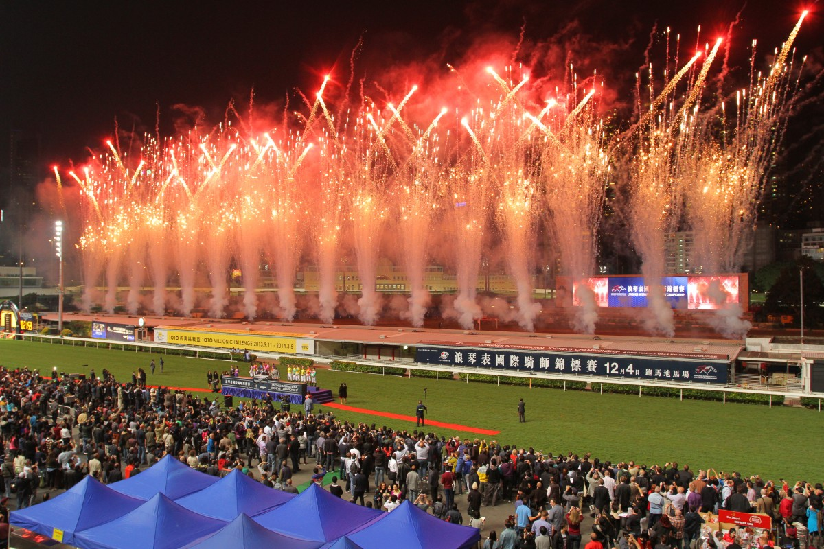 Twelve of the world's best jockeys will compete in the International Jockeys' Championship at Happy Valley on December 9. Photo: Kenneth Chan