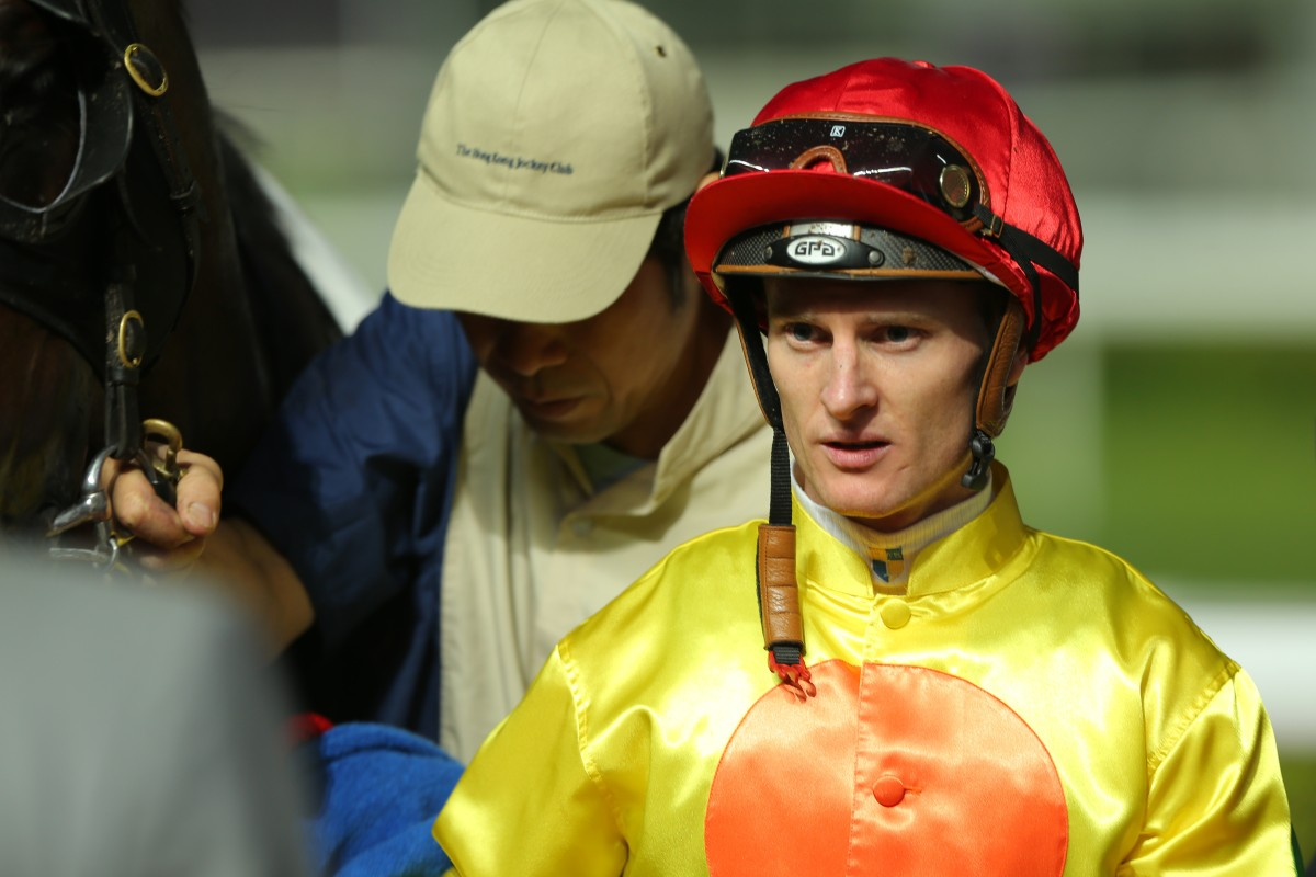 Zac Purton rode three winners, but also found himself in hot water with stewards. Photo: Kenneth Chan