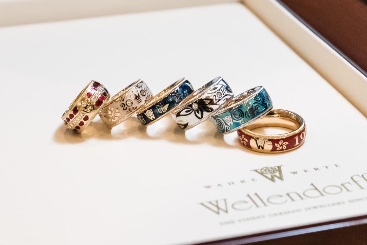 Hong Kong was treated to a showcase of all 19 editions of the Wellendorff Ring of the Year for the first time at a private exhibition.
