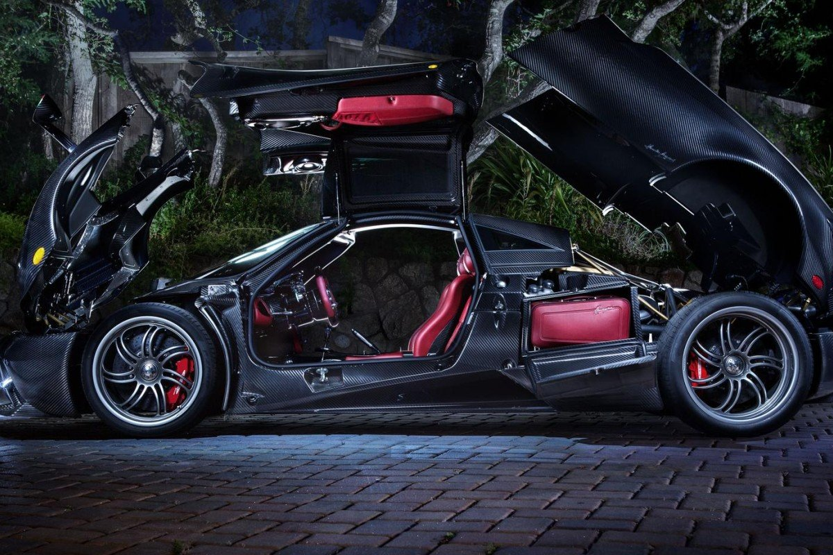 Each of the Pagani supercars are designed catering to the owners likings. Pagani only produces 40 cars each year.