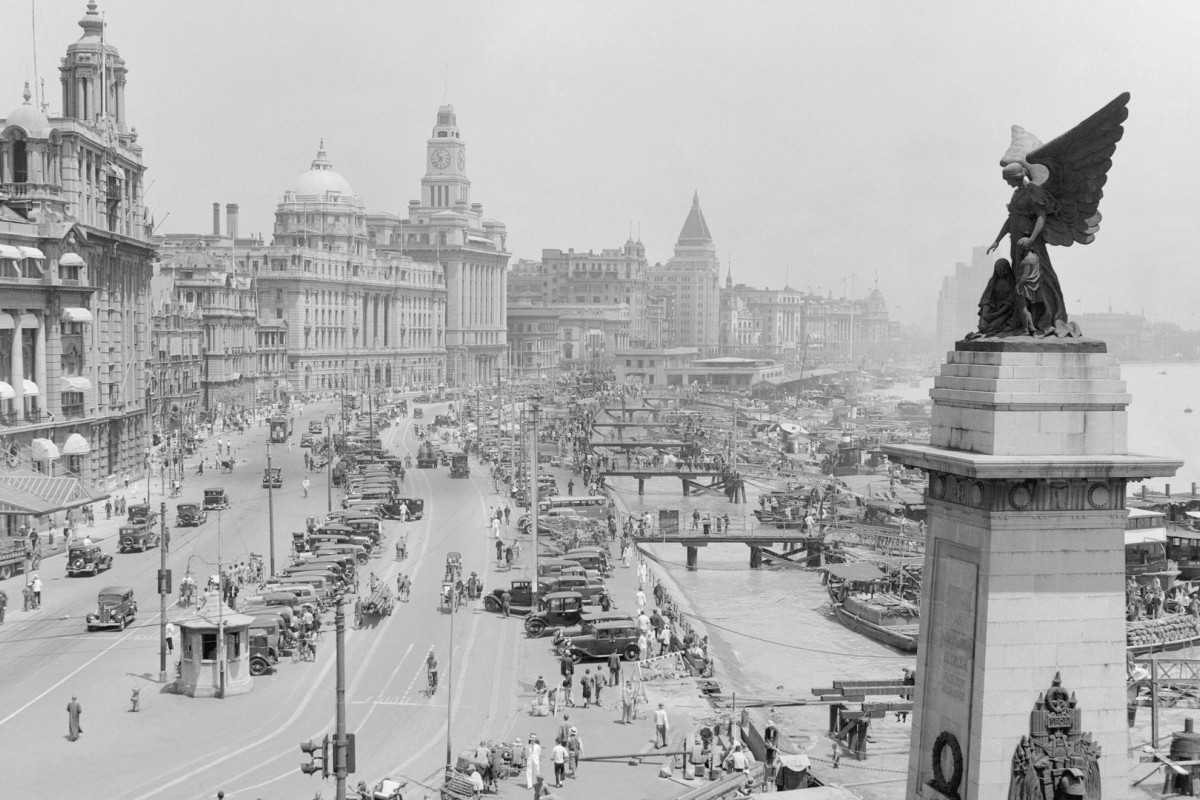 The Bund in Shanghai, in 1935. Photos: Corbis; Christie's Images; Sotheby's Hong Kong