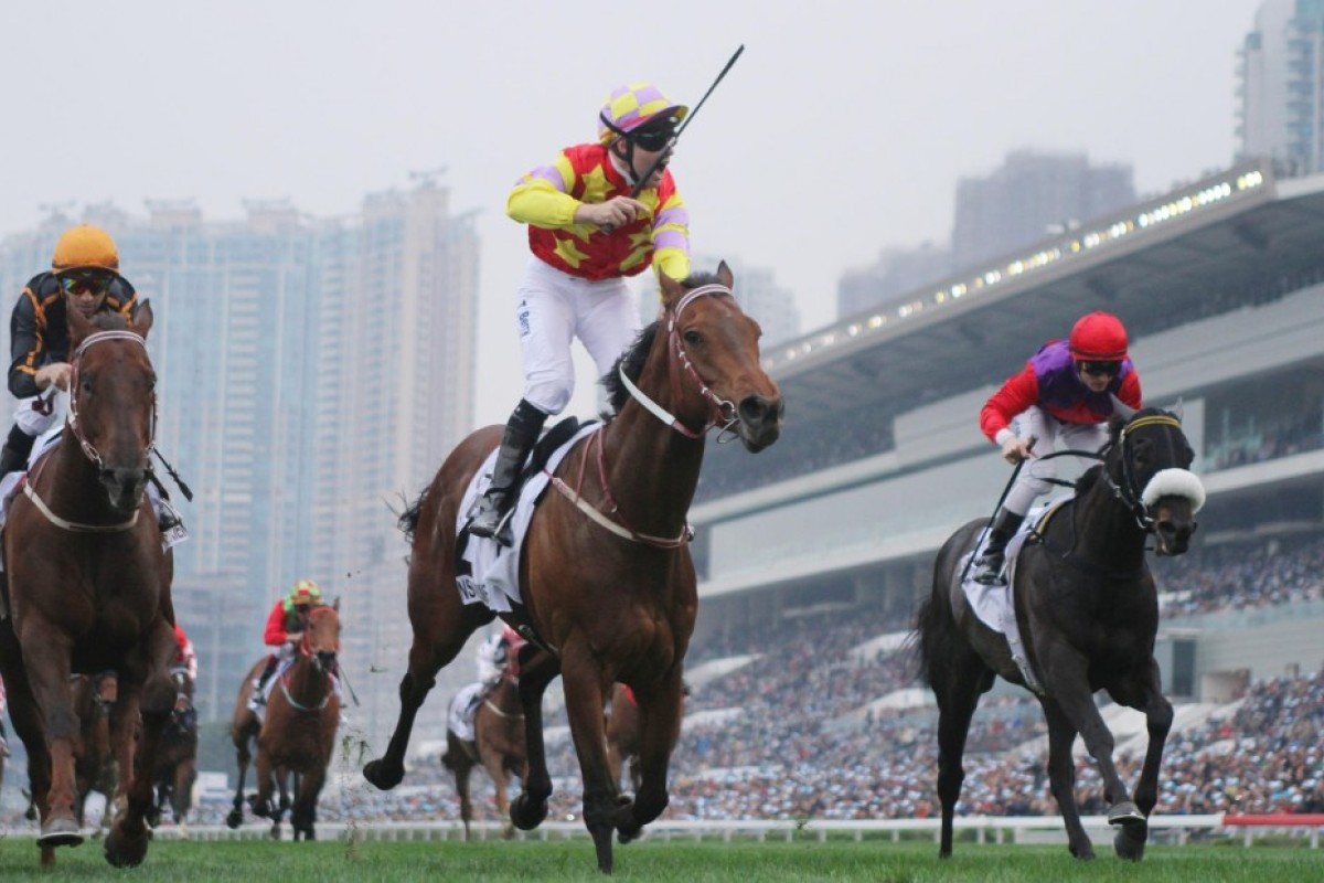 Who will join Designs On Rome as a winner of the Hong Kong Derby? Photo: Kenneth Chan