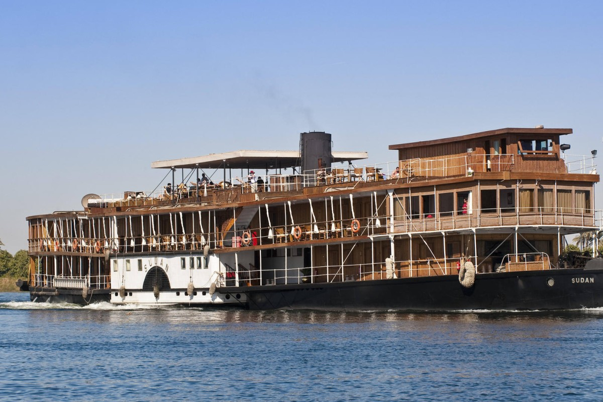 The SS Sudan cruises along the Nile, in Egypt. Photos: Ashley Lane; Corbis