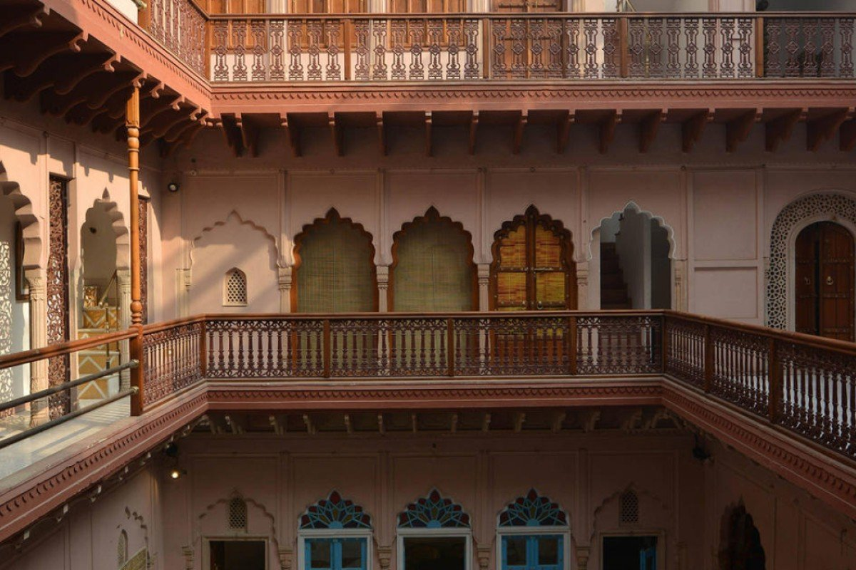 The Haveli Dharampura has 13 rooms, available from HK$933 per night.