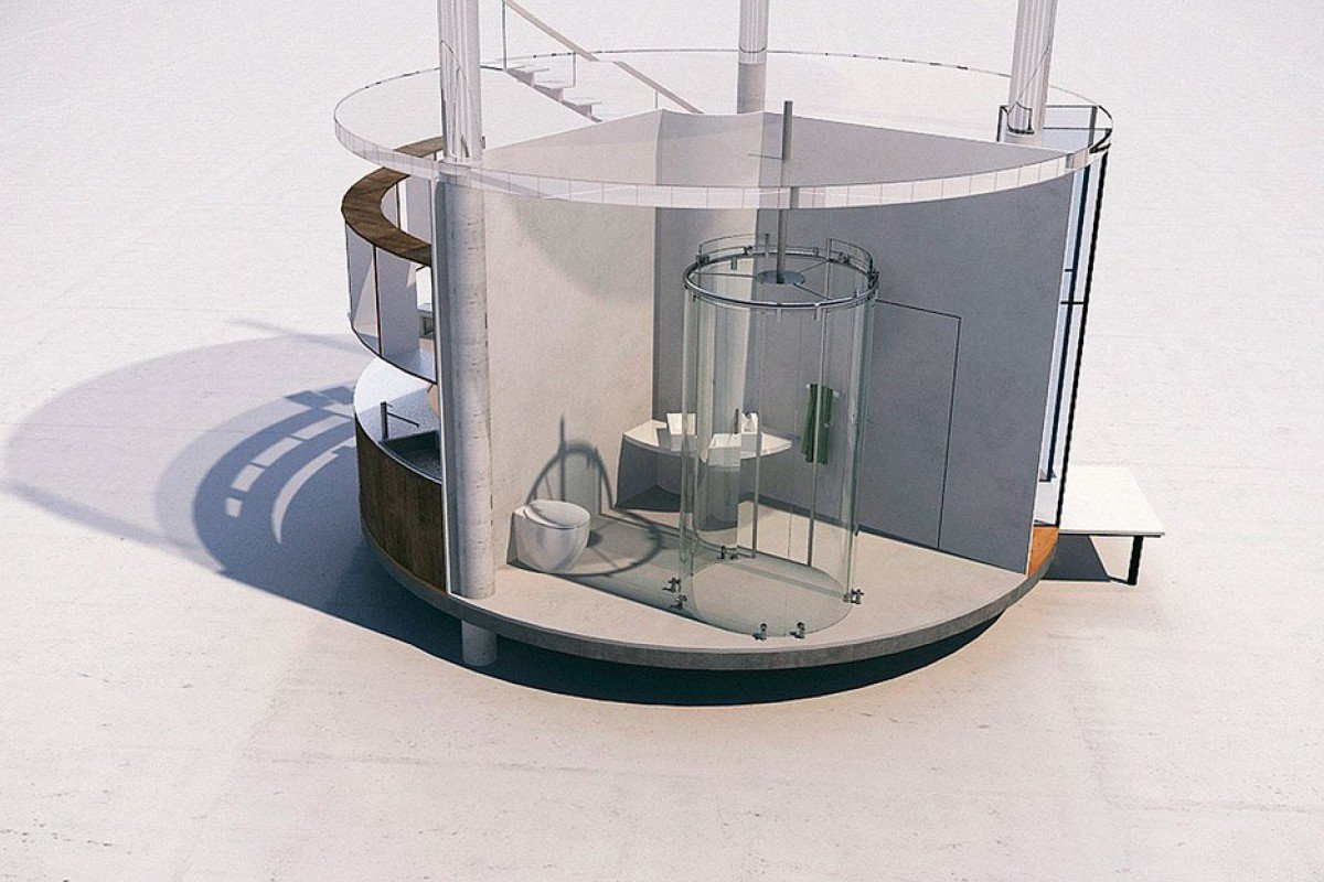 This giant tubular glass treehouse is a childhood dream come true style magazine south china - The tubular glass house ...