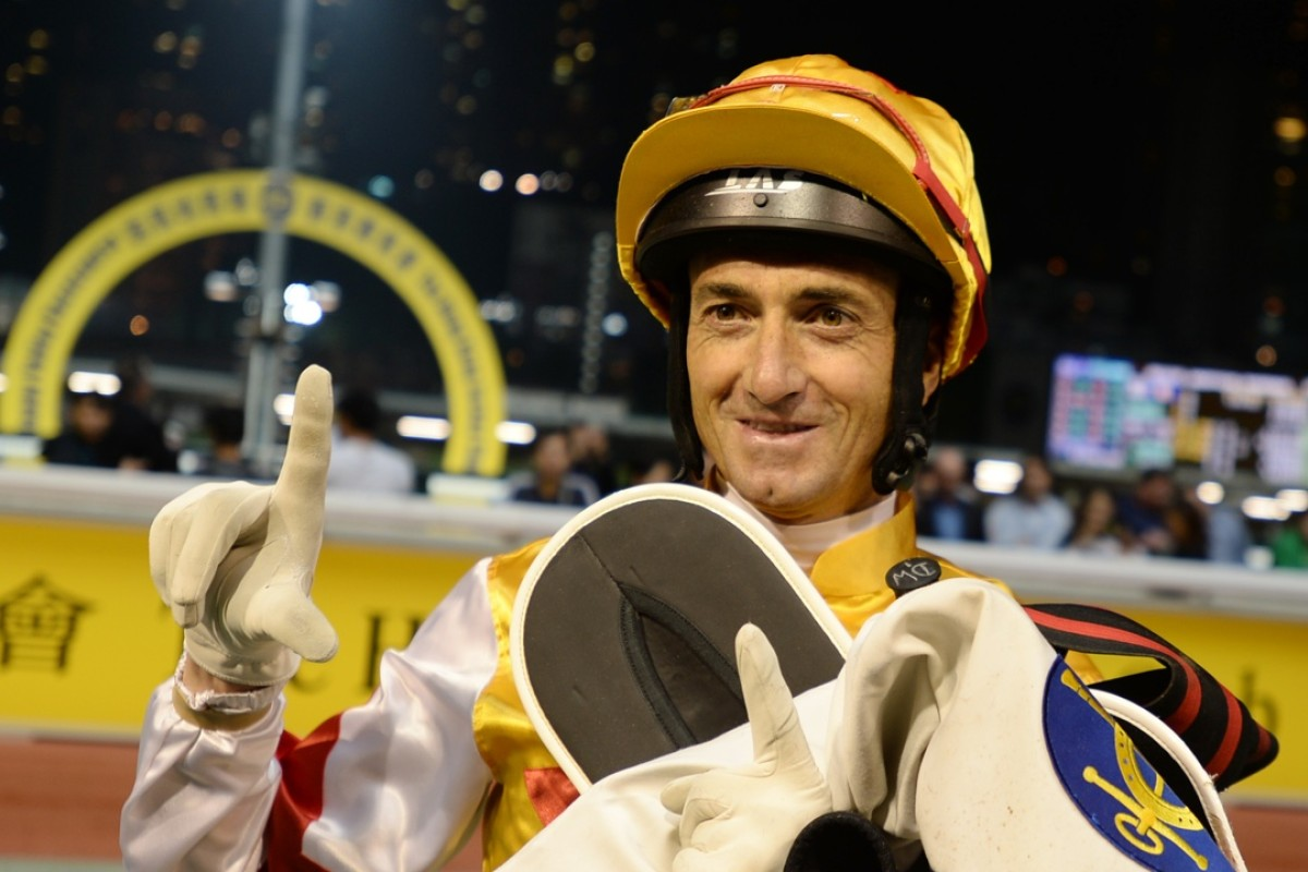 Douglas Whyte can dominate Wednesday night's Triple Trio at Happy Valley. Photo: Kenneth Chan