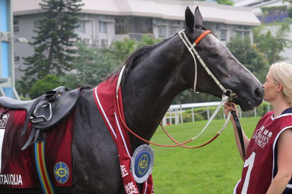 """Chautauqua proved himself the world's best sprinter at Sha Tin on Sunday, but the race set up perfectly for the horse labelled the """"Thunder From Down Under"""". Photo: Kenneth Chan"""