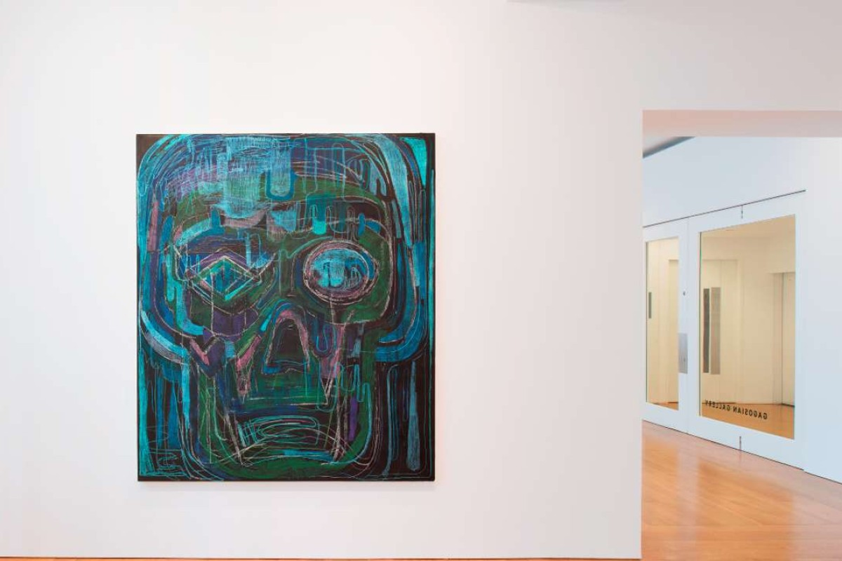 Thomas Houseago's Psychedelic Brothers – Drawn Paintings exhibition. Picture: Courtesy of Thomas Houseago and Gagosian Gallery