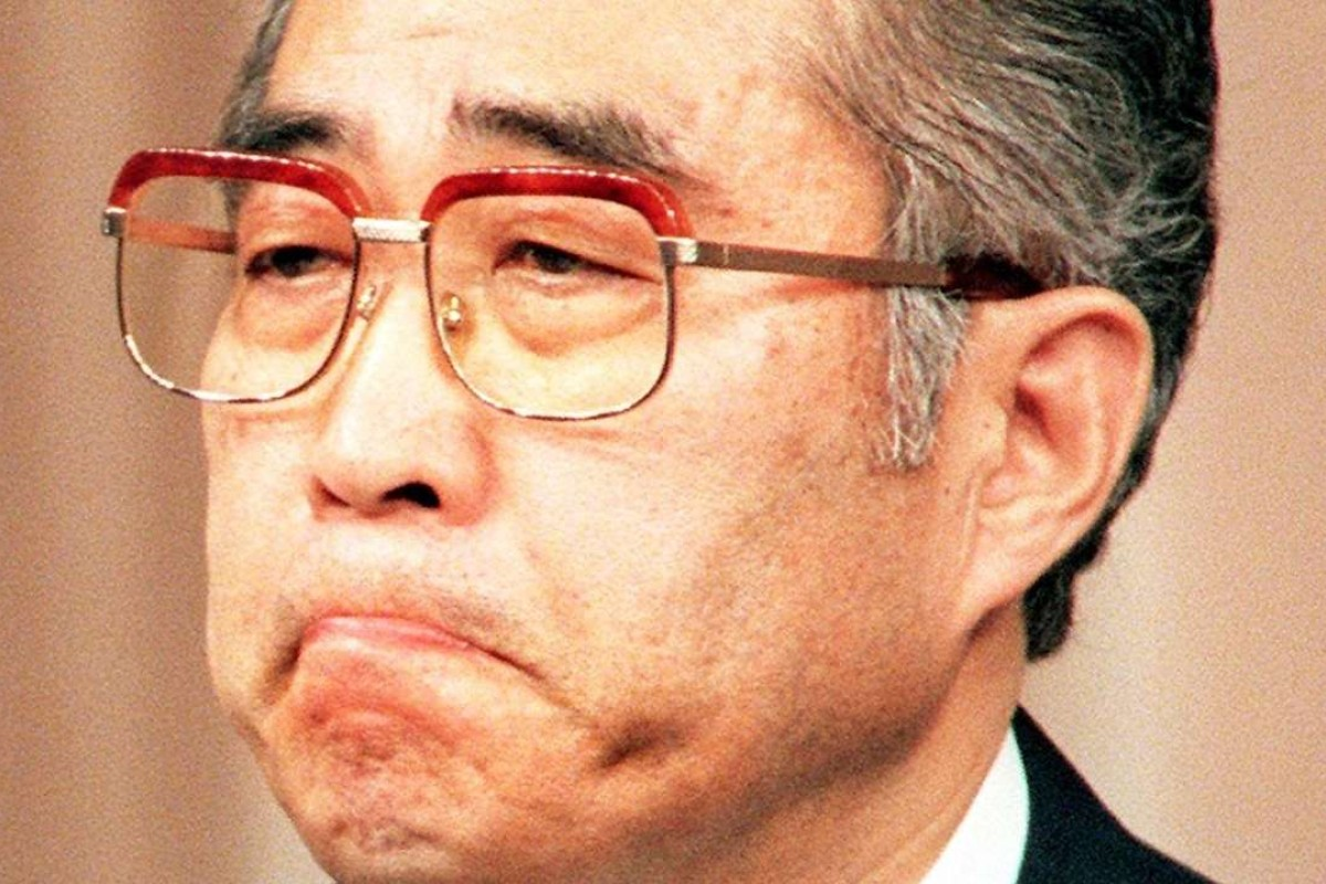 Japanese prime minister Keizo Obuchi had a similar, ill-fated, idea to China's One Belt, One Road in the 1990s. Photo: AFP