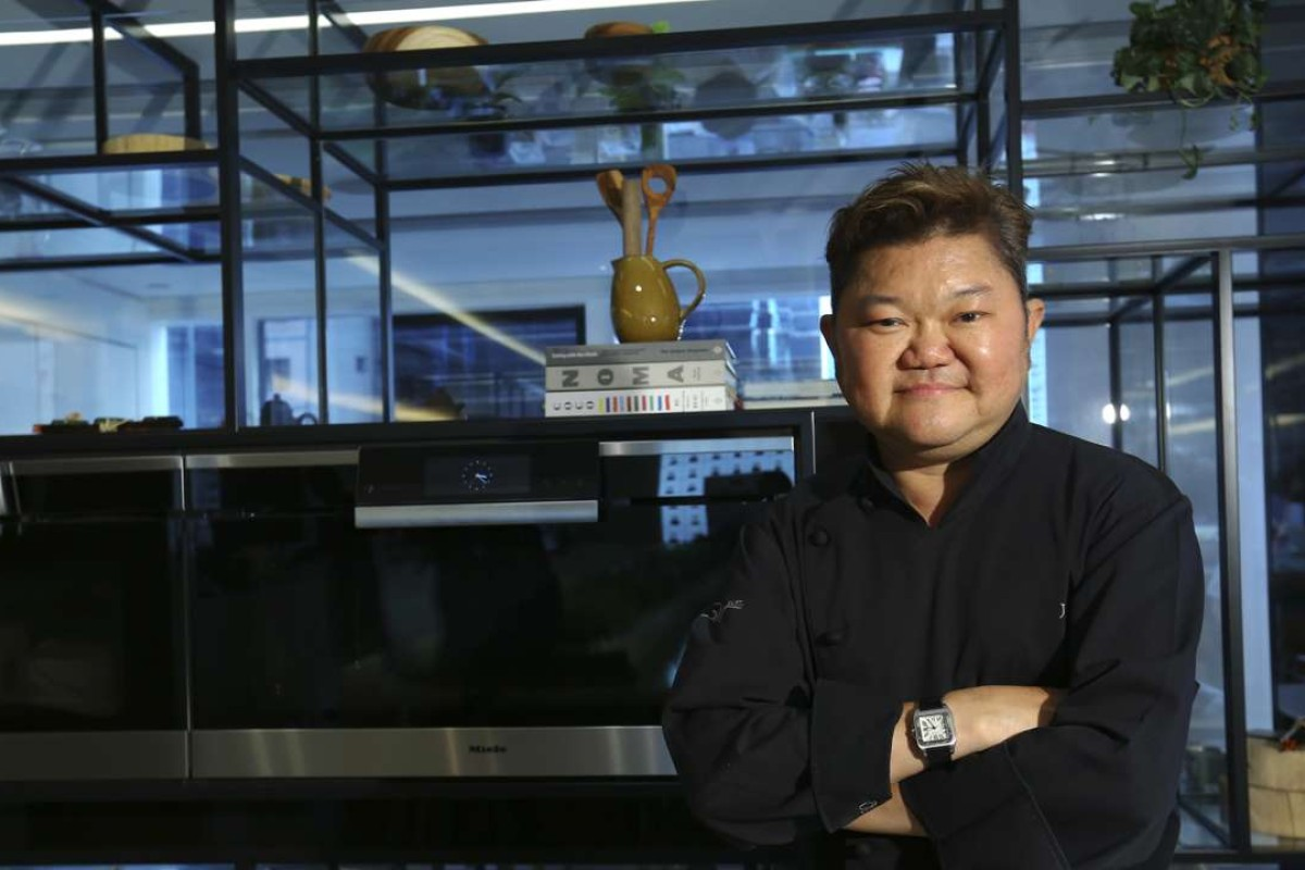 Chef Justin Quek at the Miele Private Lounge in Causeway Bay, Hong Kong. Photo: SCMP Pictures