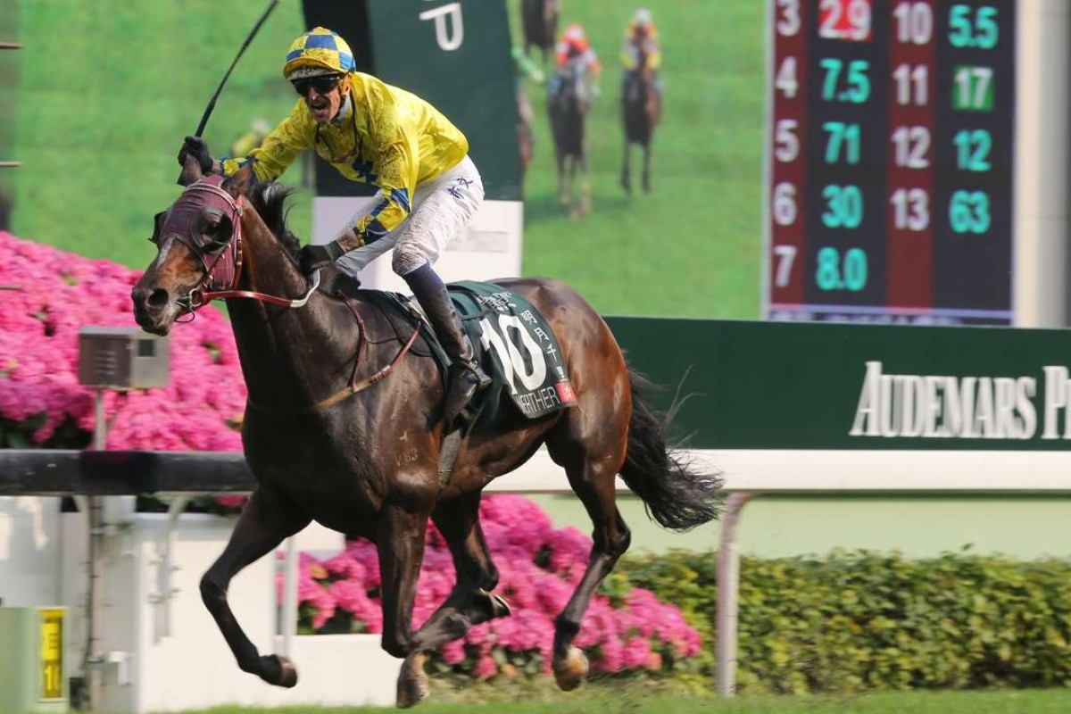 Werther ridden by Hugh Bowman won the Audemars Piguet QEII Cupat Sha Tin in April. Photo: Kenneth Chan