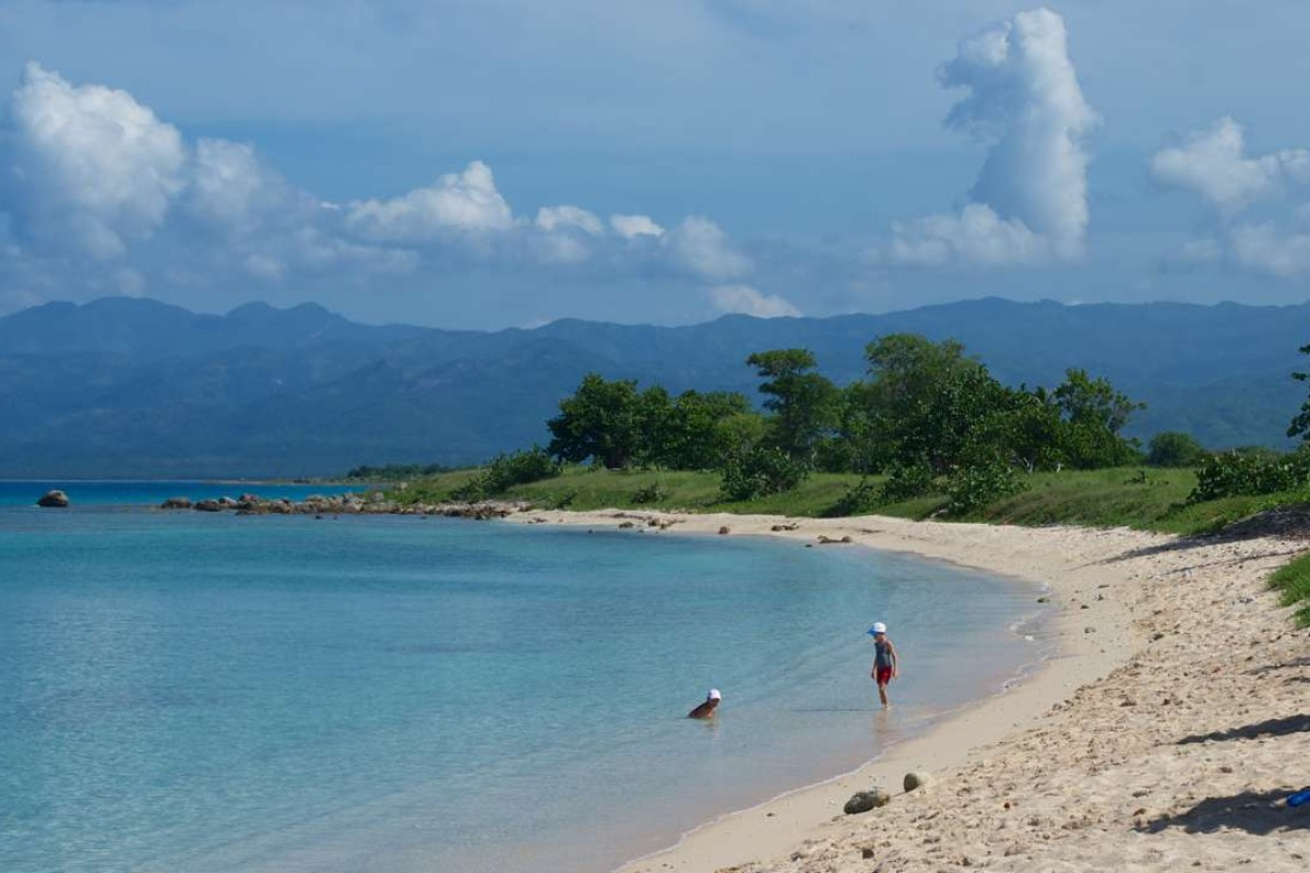 A beach near Trinidad, in Cuba. Pictures: Peter Neville-Hadley