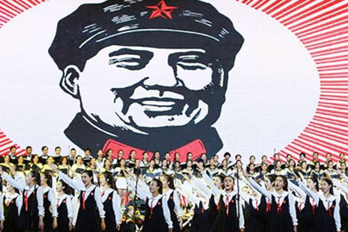 A show in Beijing celebrates 'Red Songs' from the Cultural Revolution era.  Photo
