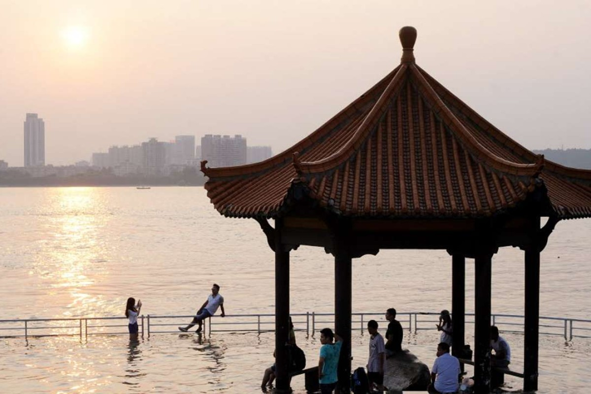The Yangtze River hitting higher-than-average levels in Wuhan last year. Photo: SCMP Pictures