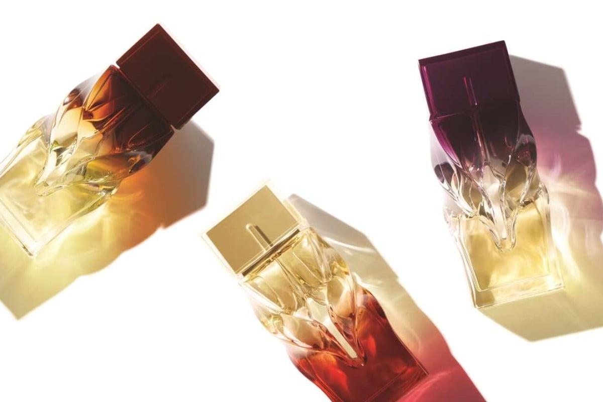 Christian Louboutin launches three women's fragrances.