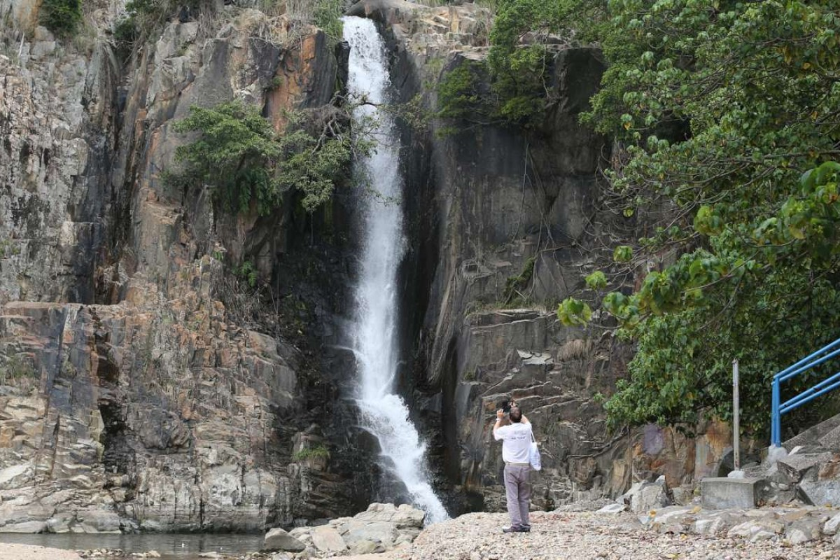 """An early image of Waterfall Bay used the spelling """"Hong Cong"""". Pictures: SCMP"""
