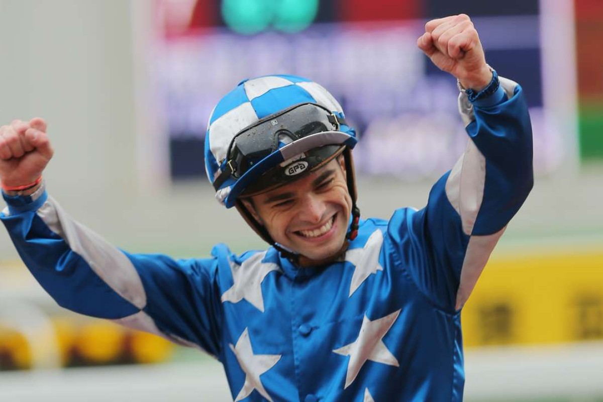 Italian Jockey Umberto Rispoli has been granted a license by the Jockey Club. Photos: Kenneth Chan