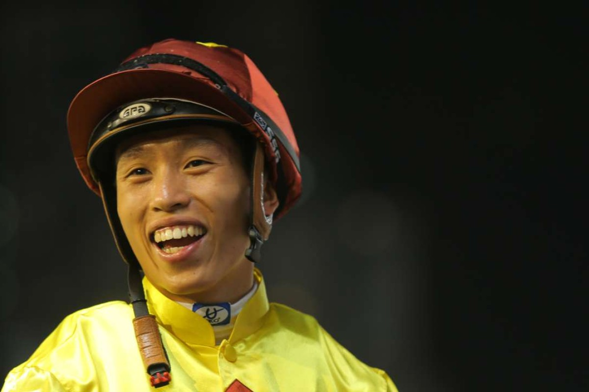 Vincent Ho will ride sprint star Peniaphobia in the Group Two Premier Bowl. Photos: Kenneth Chan